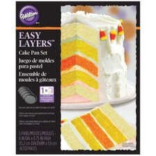 Easy Layer Cake Pan Set