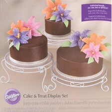 15 Piece Cake and Treat Display Set