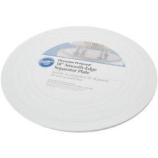 Non-Stick Smooth Round Separator Plate