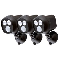 Cocoweb BlackSpot 350 Lumen LED Security Light (Set of 3)