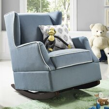 Hudson Wingback Rocking Chair