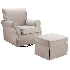 Baby Relax Kelcie Swivel Glider Chair & Ottoman