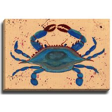 Crab by Patch Wihnyk Painting Print on Canvas