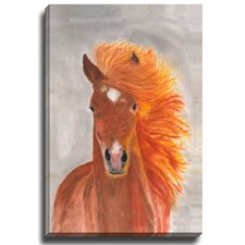 Caballo by Patch Wihnyk Painting Print on Canvas