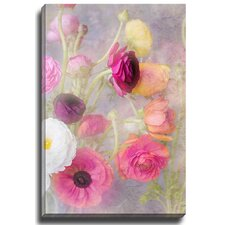 Floral Feminine by Georgianna Lane Photographic Print on Gallery Wrapped Canvas