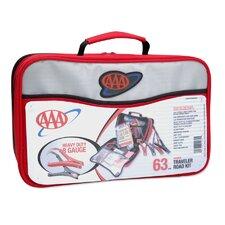 63 Piece AAA Traveler Road Kit