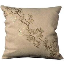Luminescence Natural/Organic Throw Pillow