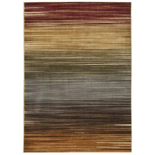 Universal Multicolored Stripe Area Rug