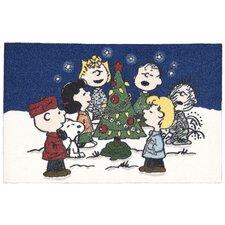 """Peanuts """"Singing Carol"""" Doormat"""