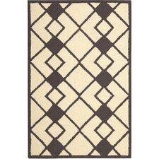 Décor Hand-Tufted Ivory/Grey Area Rug