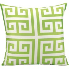 Geometric Outdoor Throw Pillow