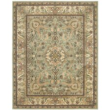 2000 Light Green Area Rug
