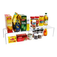 Expandable Kitchen Counter and Cabinet Shelf