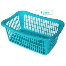 Plastic Storage Basket (Set of 3)