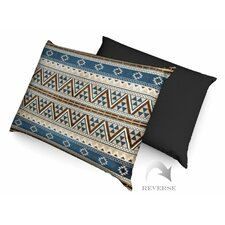 Aztec Pattern II Dog Bed with Waterproof Bottom