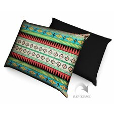 Aztec Pattern III Dog Bed with Waterproof Bottom