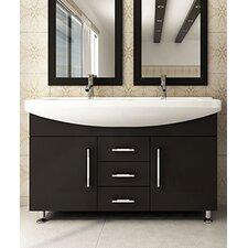 "Celine 48"" Double Bathroom Vanity Set"