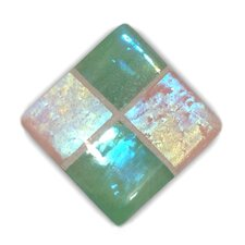 South Beach Stained Glass Cabinet Knob