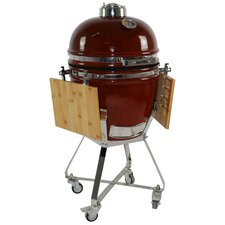 """KAMADO 15"""" Charcoal Grill with Cart"""
