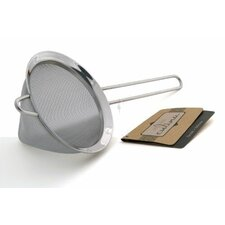 "Culina 5"" Conical Stainless Steel Mesh Strainer"