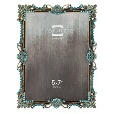 Armitage Metal with Floral Jewels Picture Frame