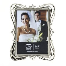Enchanted Metal with Jewels Picture Frame