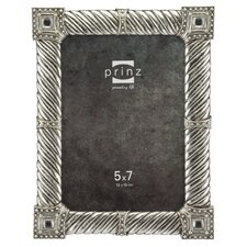 Kensington Metallic Resin with Jewels Picture Frame