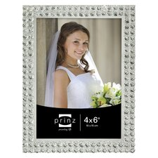 Radiance Glass with Faceted Bead Border Picture Frame