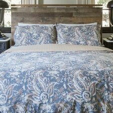 The Painted Paisley Comforter Set