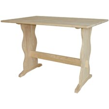 Dining Table with Trestle Leg