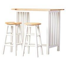 Savannah 3 Piece Counter Height Pub Table Set