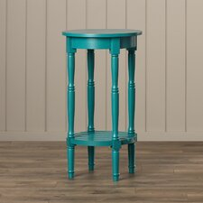 Coral Round End Table