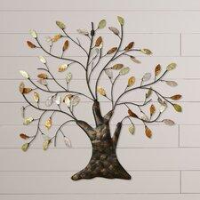 Nadia Tree & Leaves Wall Décor
