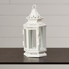 Cornelia Iron and Glass Lantern