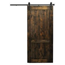 Country Vintage Barn Door without Hardware