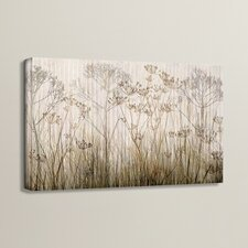 'Wildflowers Ivory' Painting Print on Canvas