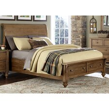 Southern Pines II Storage Sleigh Bed