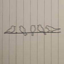 Birds On A Wire Wall Décor