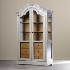 Caroline 3 Drawer Display Cabinet
