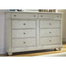 Harbor View 8 Drawer Dresser