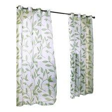 Collinsville Grommet Single Curtain Panel