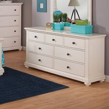 7 Drawer Double Dresser