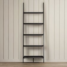 "Merrimack 72"" Leaning Bookcase"