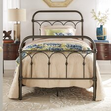 Pepperidge Metal Panel Bed