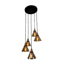 Marta 5 Light Cascade Pendant