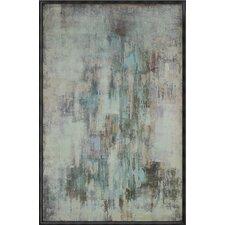 Hazy Framed Painting Print on Canvas