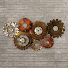 Fulton Metal Gears Wall Clock