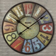 "Oversized 30.75"" County Line Wall Clock"