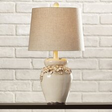 "Chamberlin 25"" H Table Lamp with Empire Shade"
