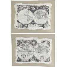 Whittier 2 Piece Graphic Art Set (Set of 2)